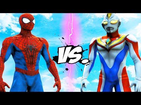 The Amazing Spider-Man VS Ultraman - EPIC BATTLE