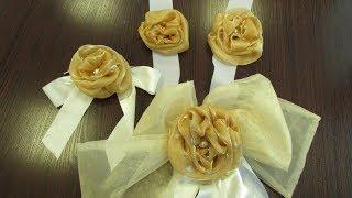 Как сделать украшение на свадебную машину своими руками. Свадебный кортеж: украшение, дизайн.