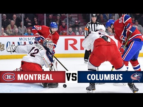 Montreal Canadiens Vs Columbus Blue Jackets | Season Game 64 | Highlights (28/2/17) - YouTube