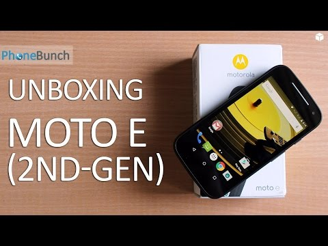 Motorola Moto E (2nd Gen) 2015 Unboxing and Quick Review
