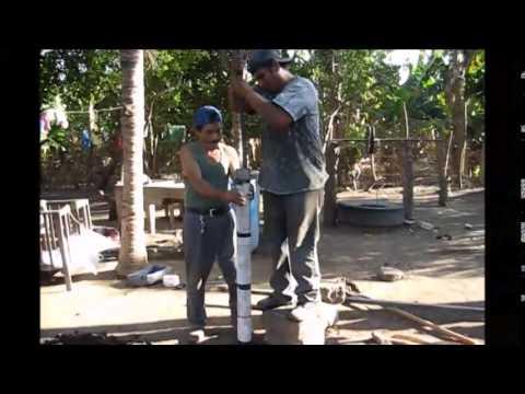 Manual Drilling with Tube Bailer - Nicaragua