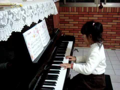芷嫻YAMAHA幼兒班第四冊~花之圓舞曲 - YouTube
