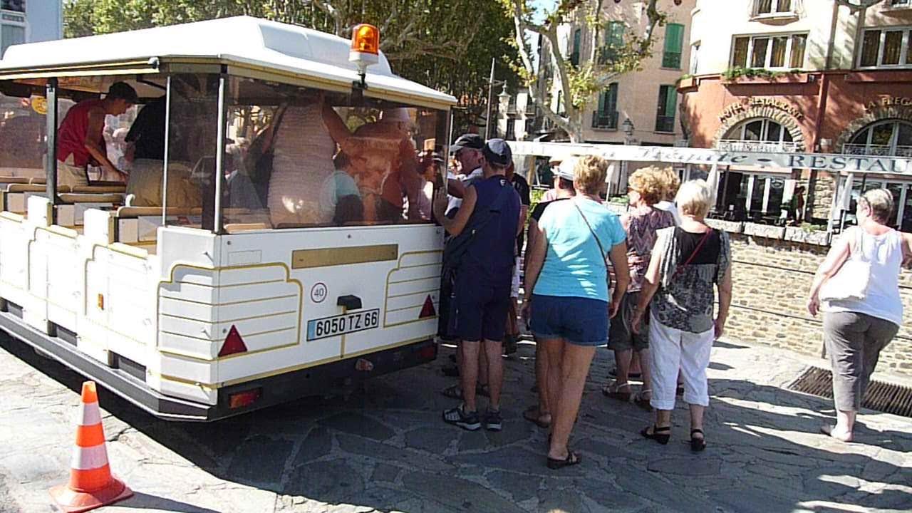 Collioure fort saint elme port vendres le petit train - Office du tourisme collioure ...