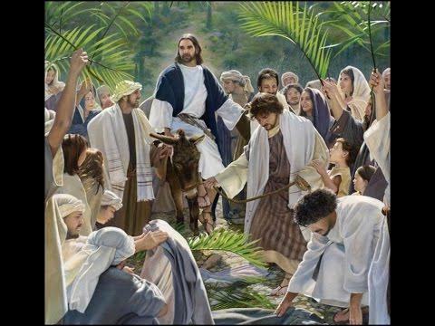 Jesus Entra em Jerusalém ( Leitura em Mateus 21;1-11 ) - YouTube