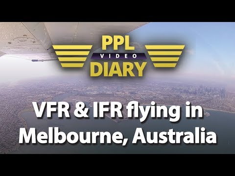 VFR and IFR flying in Melbourne, Australia