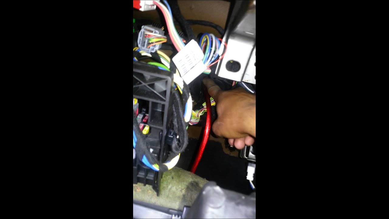 small resolution of peugeot 307 amp wiring