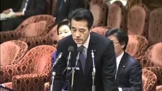 3.6衆院予算委(自民党)野田毅