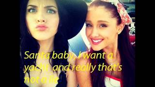 Santa Baby - Ariana Grande ft. Liz Gillies (Lyrics)