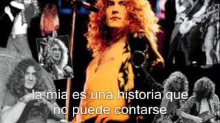 led zeppelin - ramble on subtitulos español