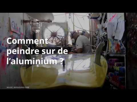 Comment Peindre Sur De L Aluminium  Youtube