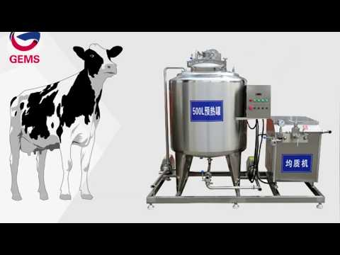 Dairy Processing Equipments, Small Scale Yogurt Production Line