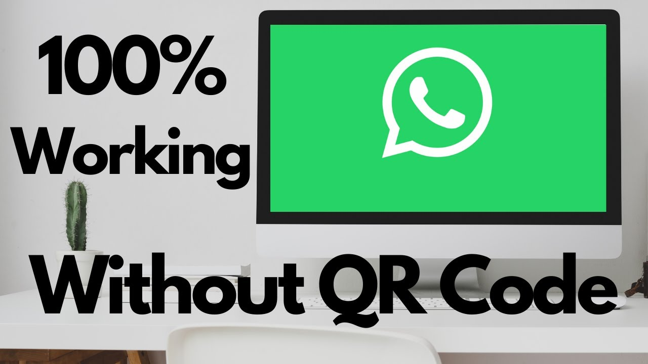 How to open whatsapp on desktop without qr code