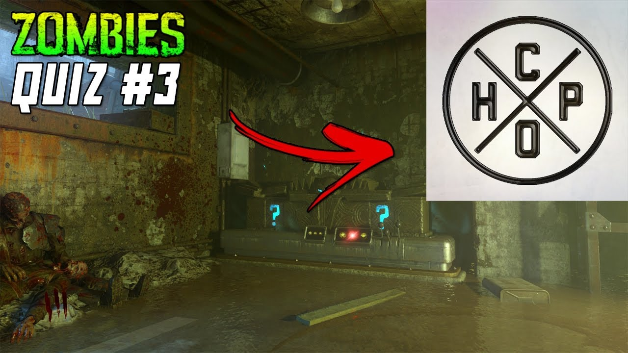 Guess The Zombies Map Quiz 3 Ft Ch0pper Call Of Duty Zombies Quiz Youtube