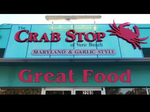 The Crab Stop Of Vero Beach Florida