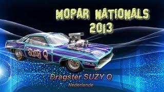 """Dragster """"Suzy Q"""" bei den Mopar Nationals 2013"""