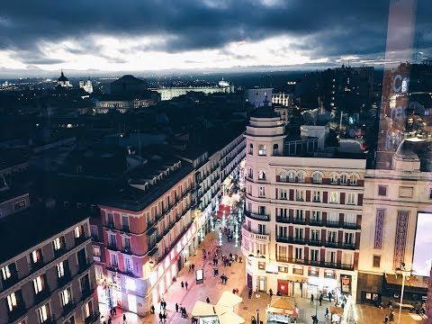 Vlog Centre-Ville de Madrid (تعلو تشوفوا  وسط مدينة (مدريد)  مع مطبخ قمر)