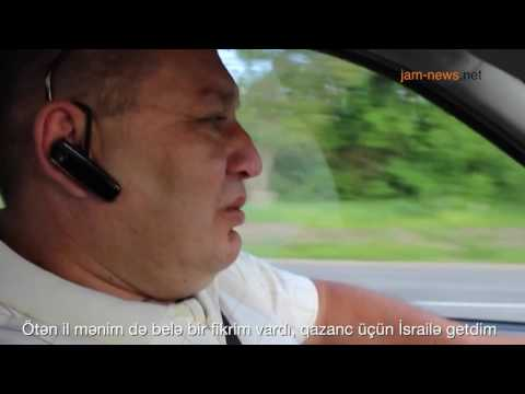 Nikolay Malay is a taxi driver in Moldova, May 2017 (Azerbaijan subtitles)