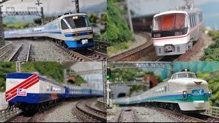 1990年頃のJR特急列車を題材に制作しました。 ※この動画はフィクション...