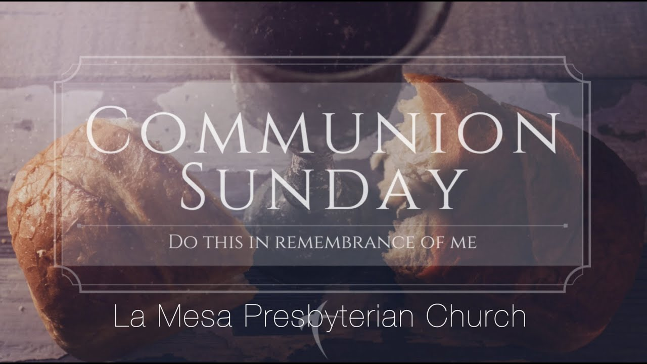 September 5, 2021 Worship Service w/Communion