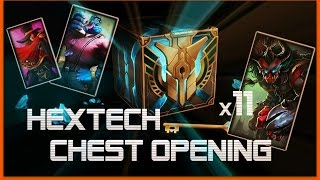HEXTECH CHEST OPENING (x11) | Life is GG