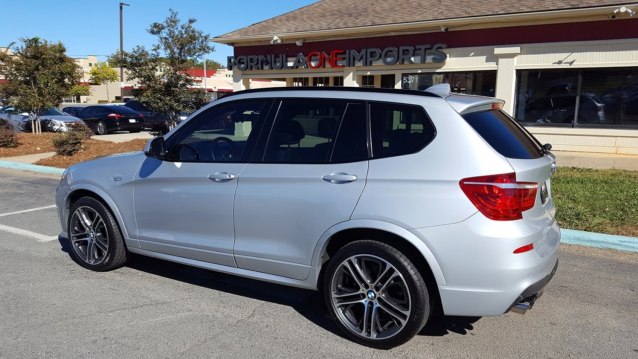 2015 bmw x3 xdrive35i m sport for sale formula one imports charlotte youtube. Black Bedroom Furniture Sets. Home Design Ideas