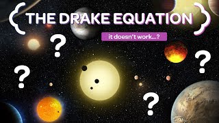 The Drake Equation Doesn