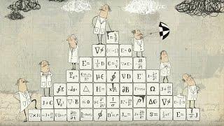 Animated History of Physics - Dara O Briain's Science Club - Brit Lab - BBC