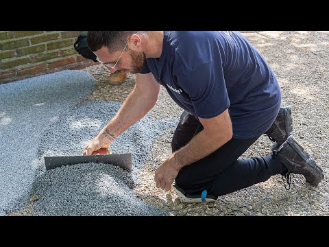 Video Guide 17: Crushed Marble Landscape Surfacing At Boxing Champion's Home