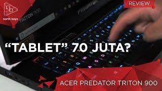 Tablet Gaming 2-in-1 70 Juta ?! Layarnya Bisa Diputer2 ! - Review Predator Triton 900