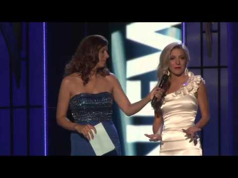 Miss New Jersey Cara McCollum answers preliminary question about