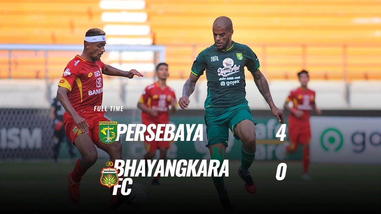 Pekan  Cuplikan Pertandingan Persebaya Vs Bhayangkara Fc