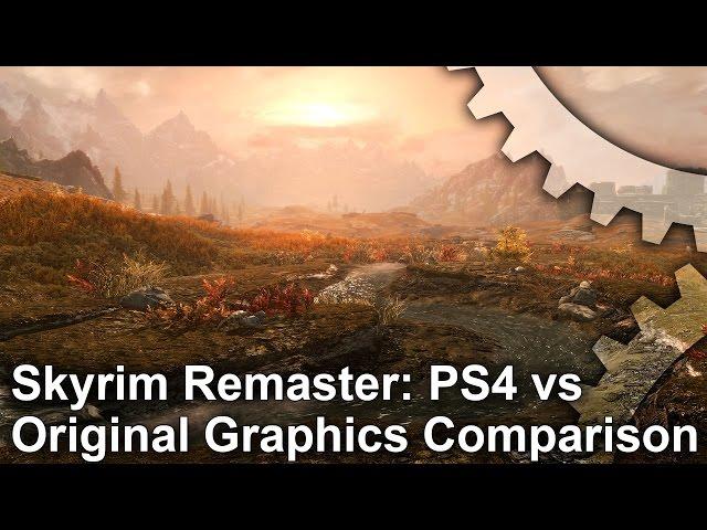 Digital Foundry vs Skyrim Special Edition • Eurogamer net