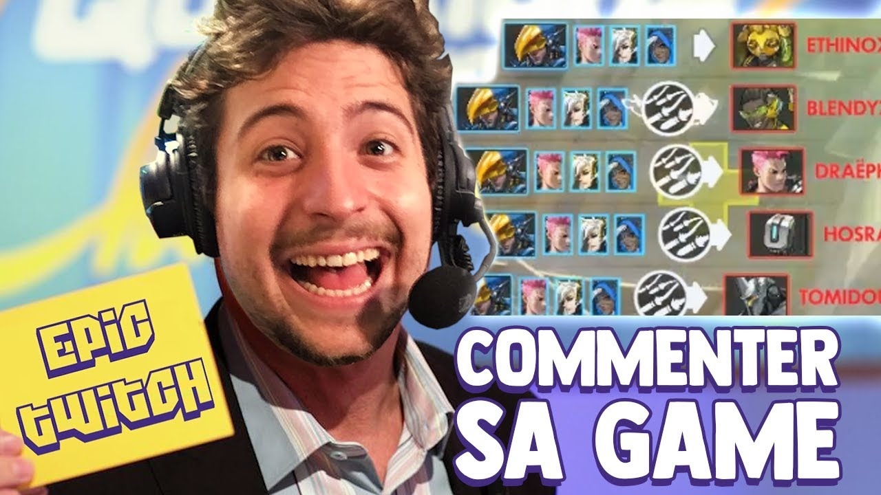 JE COMMENTE MA PROPRE GAME EPIC TWITCH #3 - YouTube