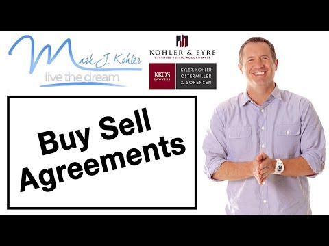 Buy Sell Agreements | Mark J Kohler | Tax & Legal Tip
