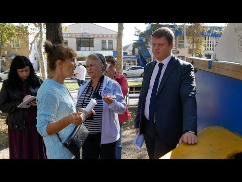 Кореновск. Выездное совещание общественников.