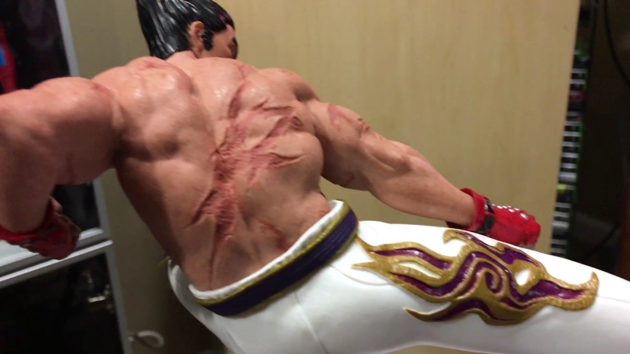 Tekken 7 Collectors Edition Pvc Statue Diorama Kazuya Vs Heihachi
