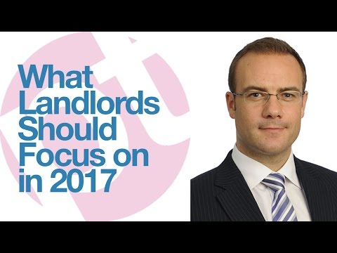 What landlords should focus on in 2017