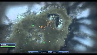 Supreme Commander 2 Pro Match Dual Cast 1v1 Ori Vs.Sorrow Open Palms Epic Game play - Steal Speaks