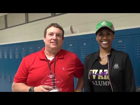 Wedgwood Middle School Teacher of the Month November