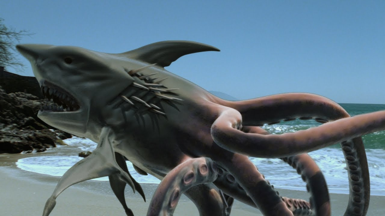 Download Ośmiorekin / Sharktopus (2010) - STRESZCZENIE #11