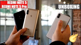 Xiaomi Redmi Note 5 and Note 5 Pro Unboxing and First Look