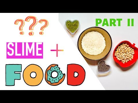 FOOD SLIME - Do Not Try This at Home - Part II - Elena Slime - 동영상