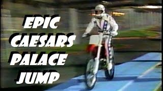 ROBBIE KNIEVEL caesars palace part 3 (THE JUMP)