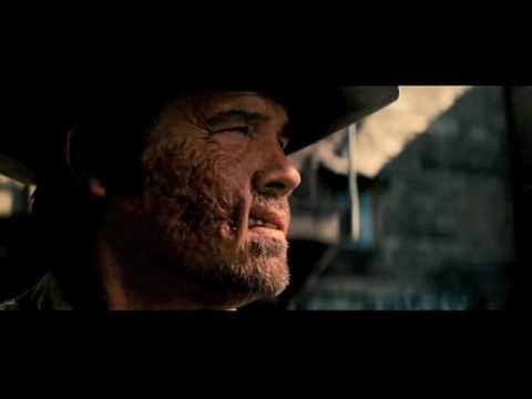 "Jonah Hex Clip Gatling Gun On Horseback Scene ""Cut him down!"