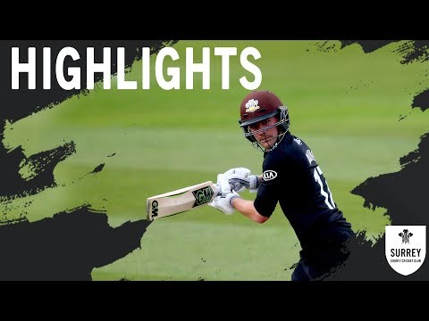 Highlights: Hampshire v Surrey - Royal London One-Day Cup