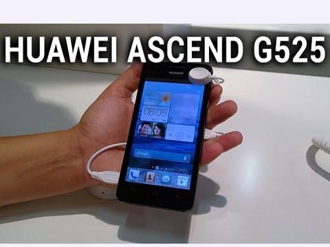 Huawei Ascend G525, prise en main - par Test-Mobile.fr