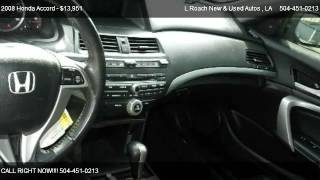 2008 Honda Accord EX-L V6 Automatic Coupe - for sale in Metairie, LA 70003