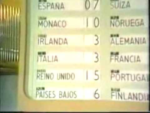 Eurovision 1969 - Voting Part 2/3