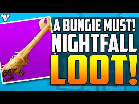 Destiny 2 - Nightfall Exclusive loot - BUNGIE PLEASE DO THIS!!!!!!!!!