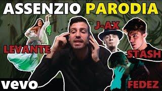 J-AX & Fedez - Assenzio ft. Stash, Levante | PARODIA